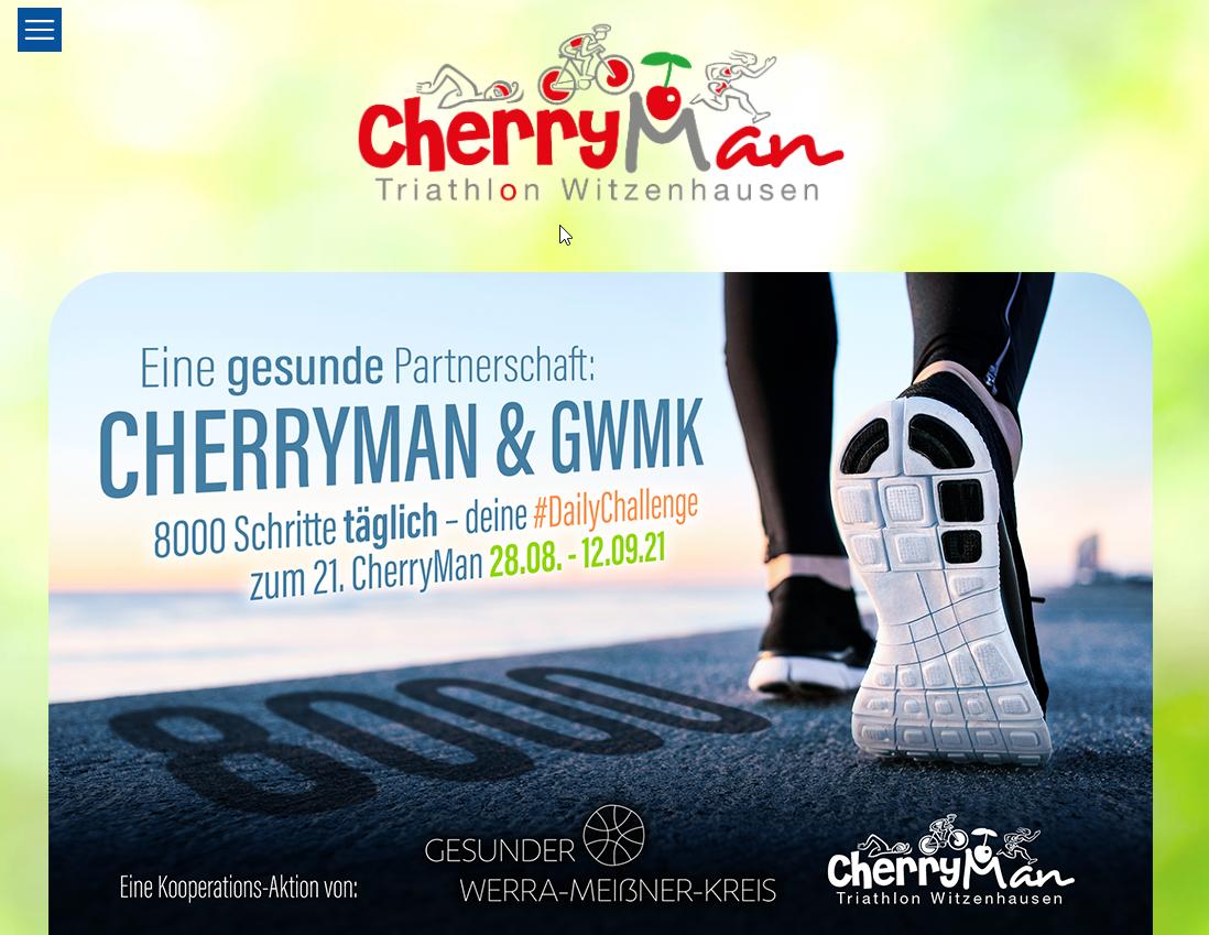 CherryMan 21 - #Daily Challenge 8000 Schritte